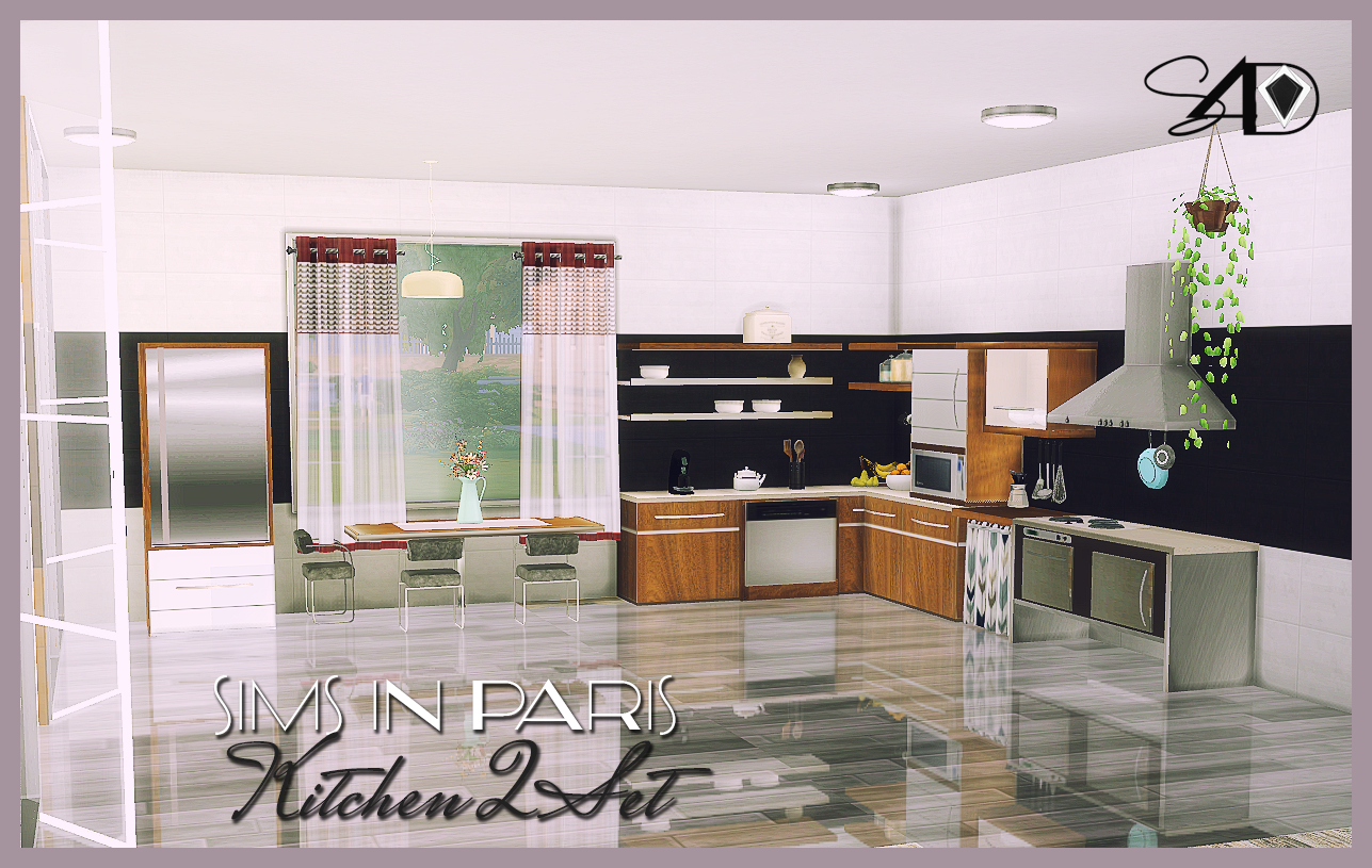 2t4 sims in paris kitchen ii sims 4 designs sims 4 for Kitchen ideas sims 4