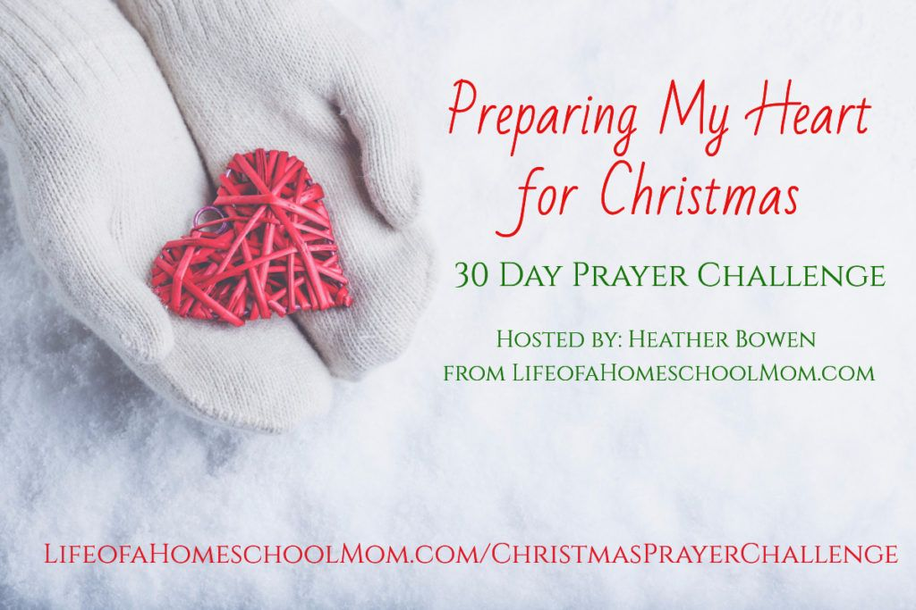 Preparing My Heart For Christmas Prayer Challenge Mom For All Seasons Christmas Prayer Prayer Journal Prayers