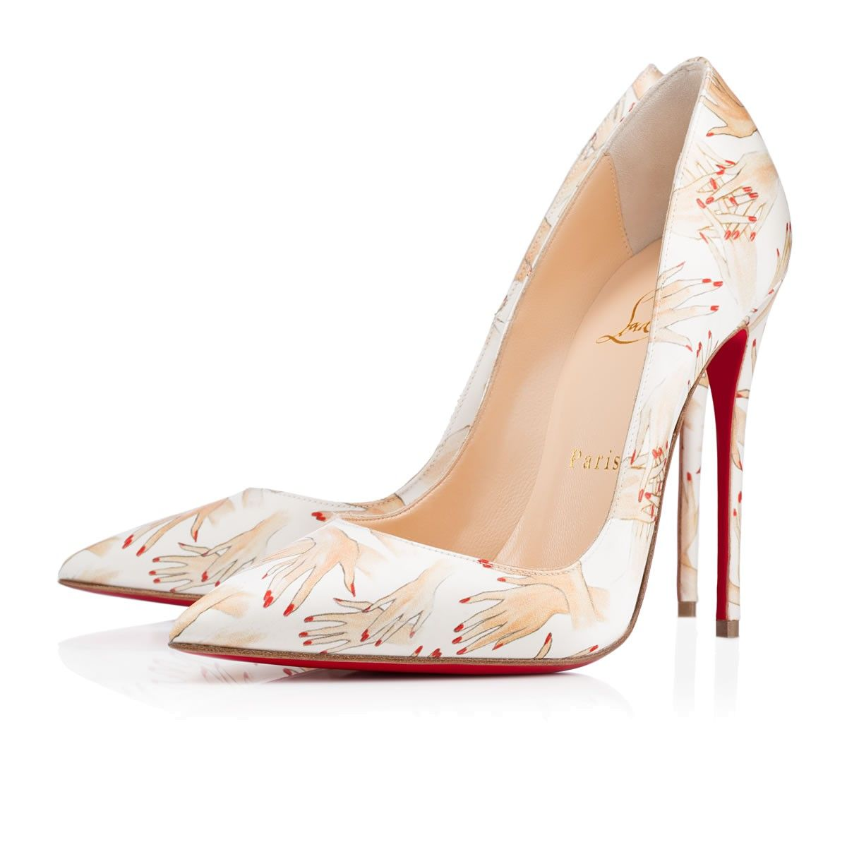 So Kate 120 Black Suede - Women Shoes - Christian Louboutin