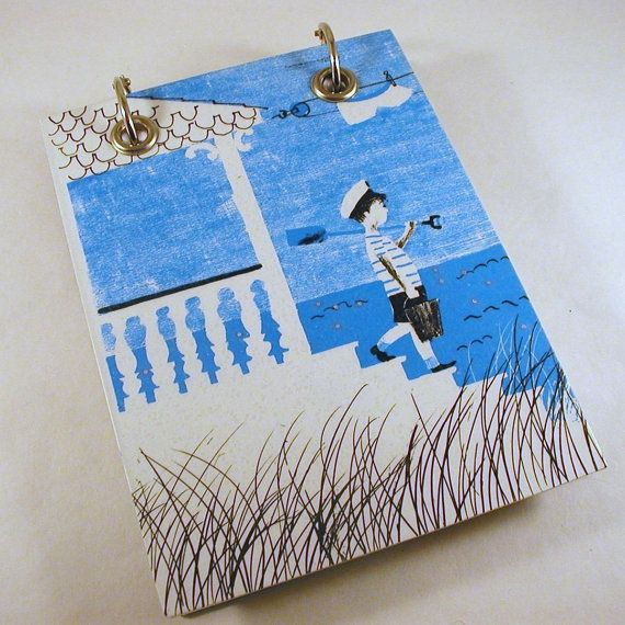 Refillable Recycled Notepad by RagAndBoneDesign
