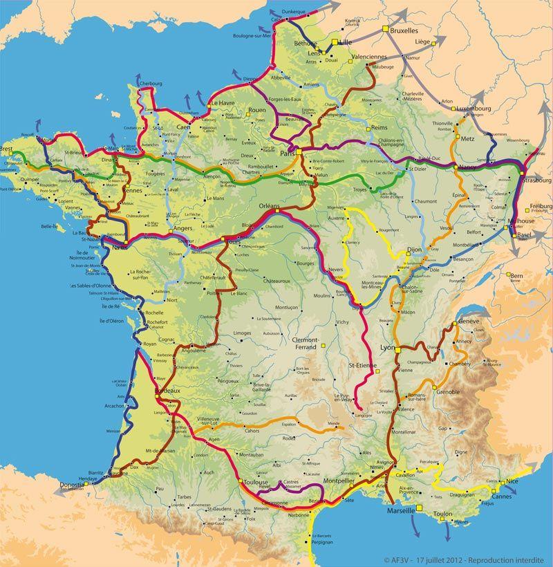 Les vélos route et voies vertes de France Les vacances différentes - Chambre Des Metiers Boulogne Sur Mer