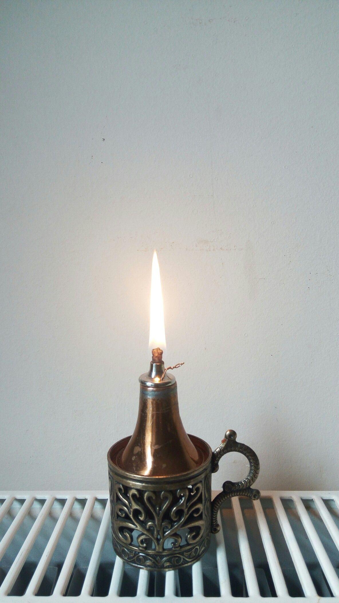 copper kerosene&oil lamp diy | Lámparas industriales ...