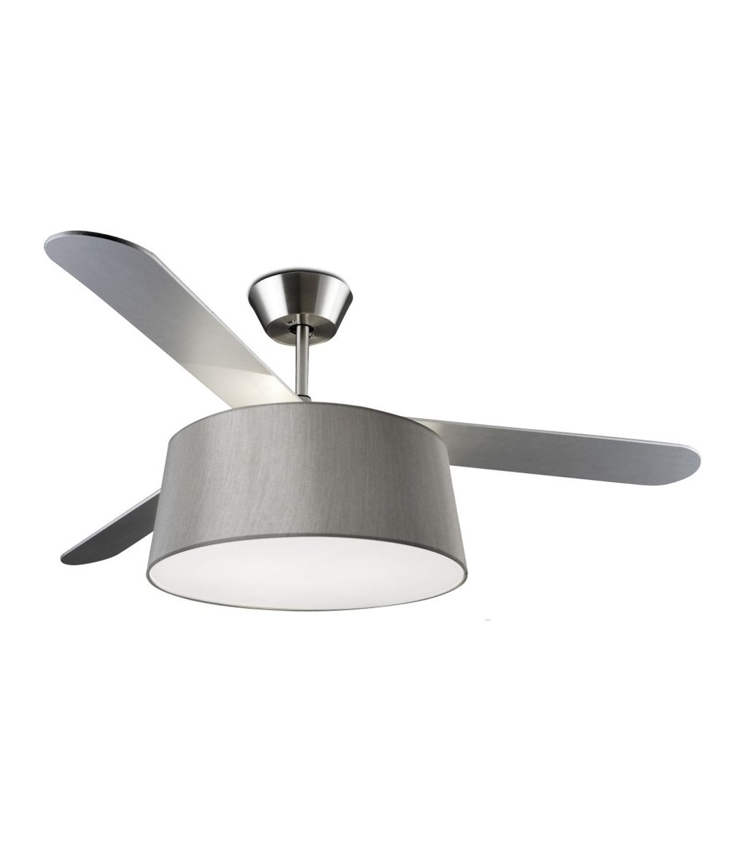 Modern Ceiling Fan With Drum Light Shade Drum Light Modern Ceiling Fan Ceiling Lights Uk