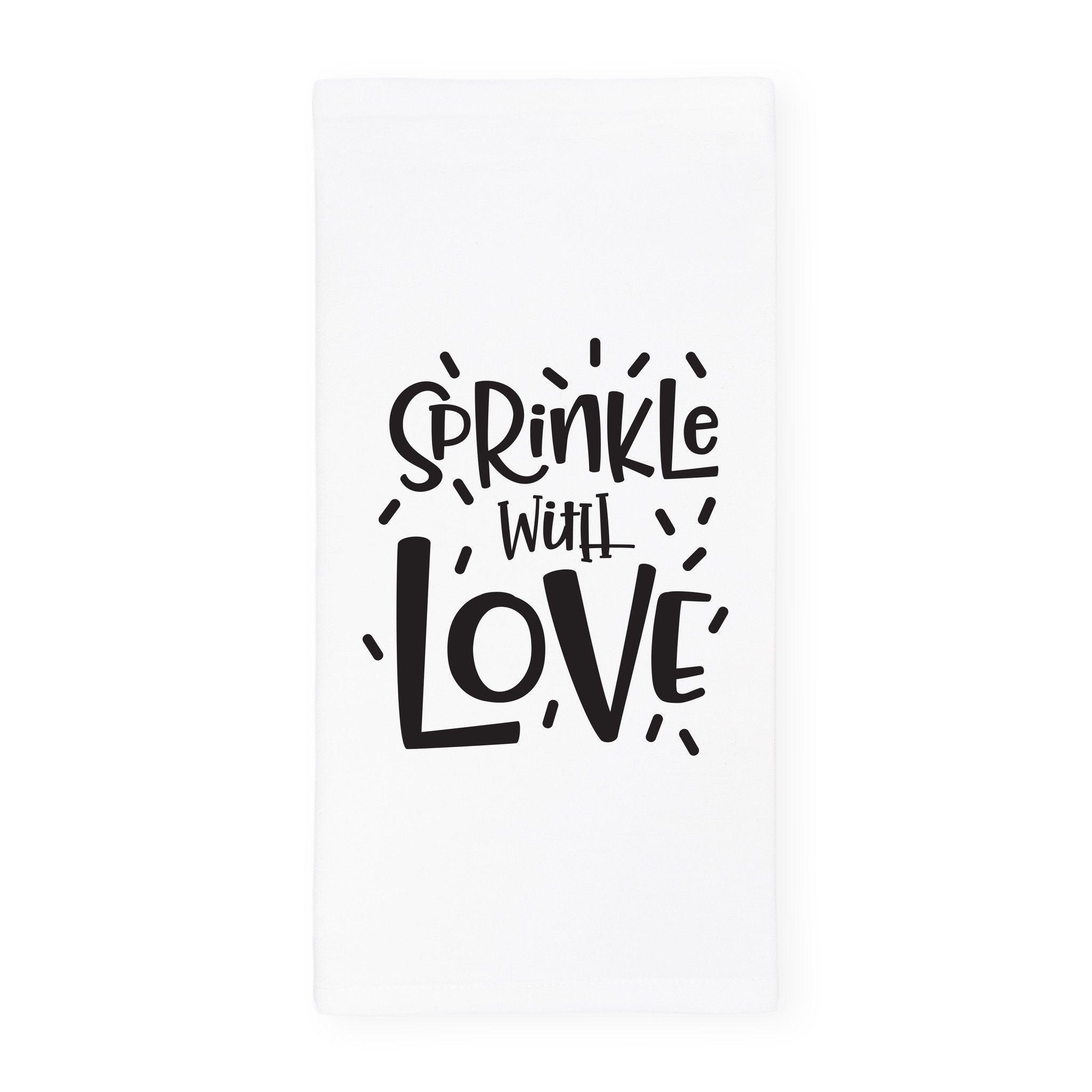 Boardmans Wedding Gift Registry: Sprinkle With Love Kitchen Tea Towel