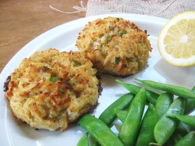 My Fare Foodie.: Authentic Maryland-Style Crab Cakes ( use butter flavored cooking spray instead of butter & light mayo)