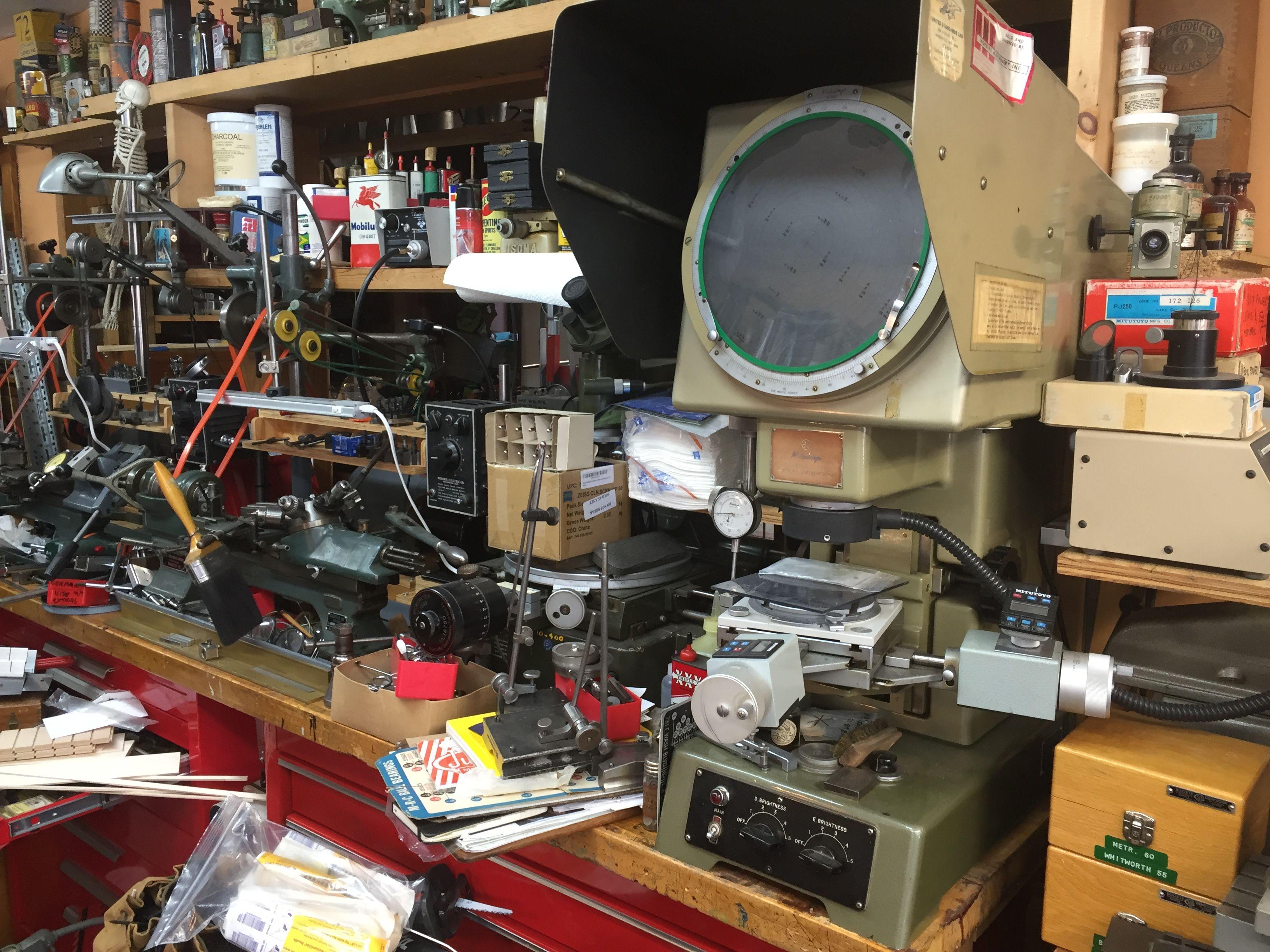 Epingle Par Snarfblat Dinglehopper Sur Benches To Build Jewelers And Watchmakers Kitchen Appliances Appliances Et Espresso Machine