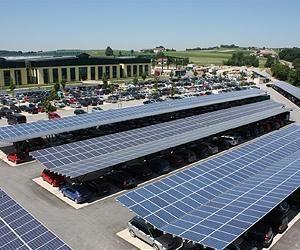 Eepro Debuts Solar Photovoltaic Carports In North America Solar Solar Panels Solar Energy