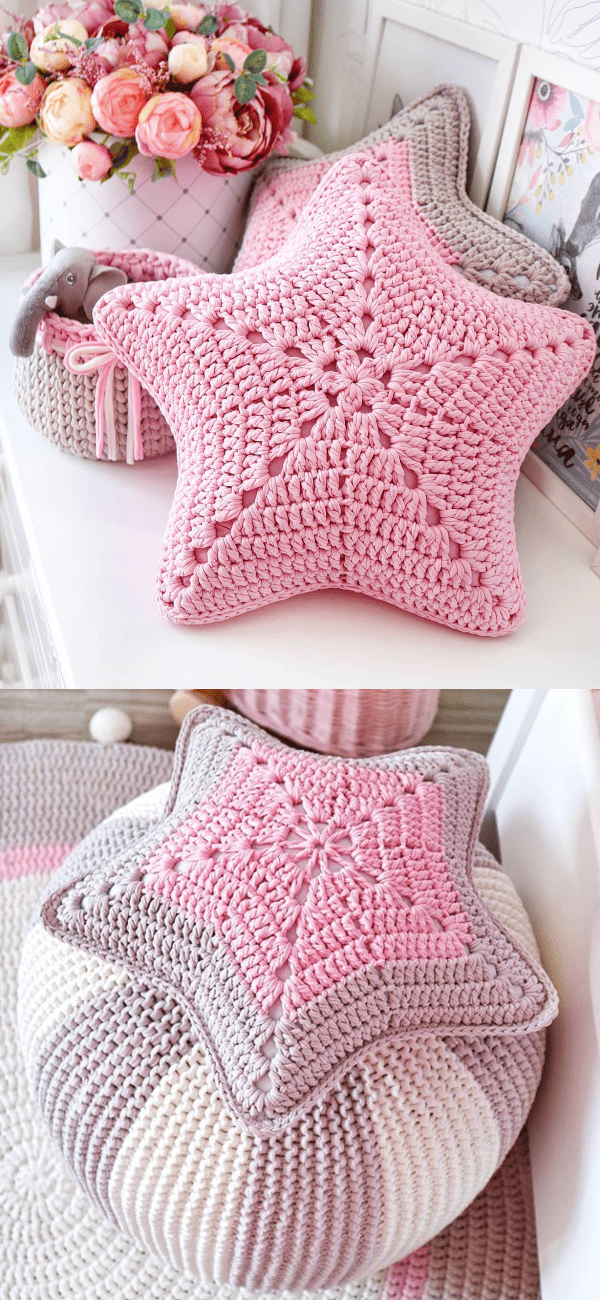 Photo of Star-Shaped Pillow Ideas