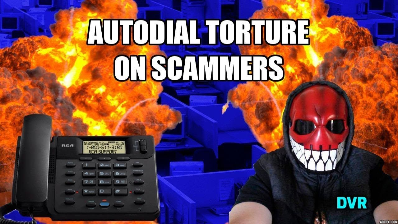 Indian Scammers talking to Autodialer Scammers, Youtube