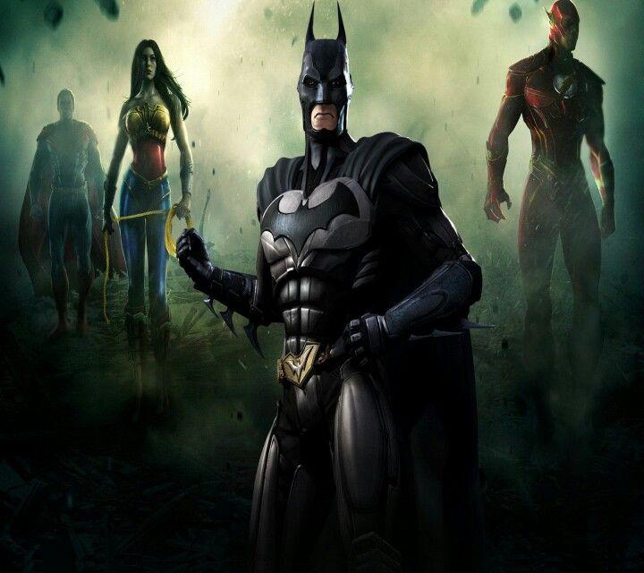 Pin By Kristy On Good Vs Evil Batman Injustice Injustice Superman Games
