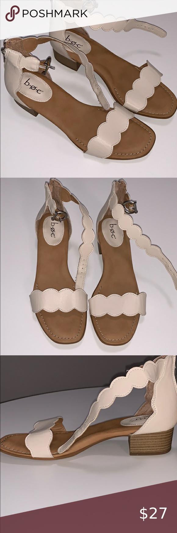 B.O.C. 'Holly' Block Heel Sandals - 8