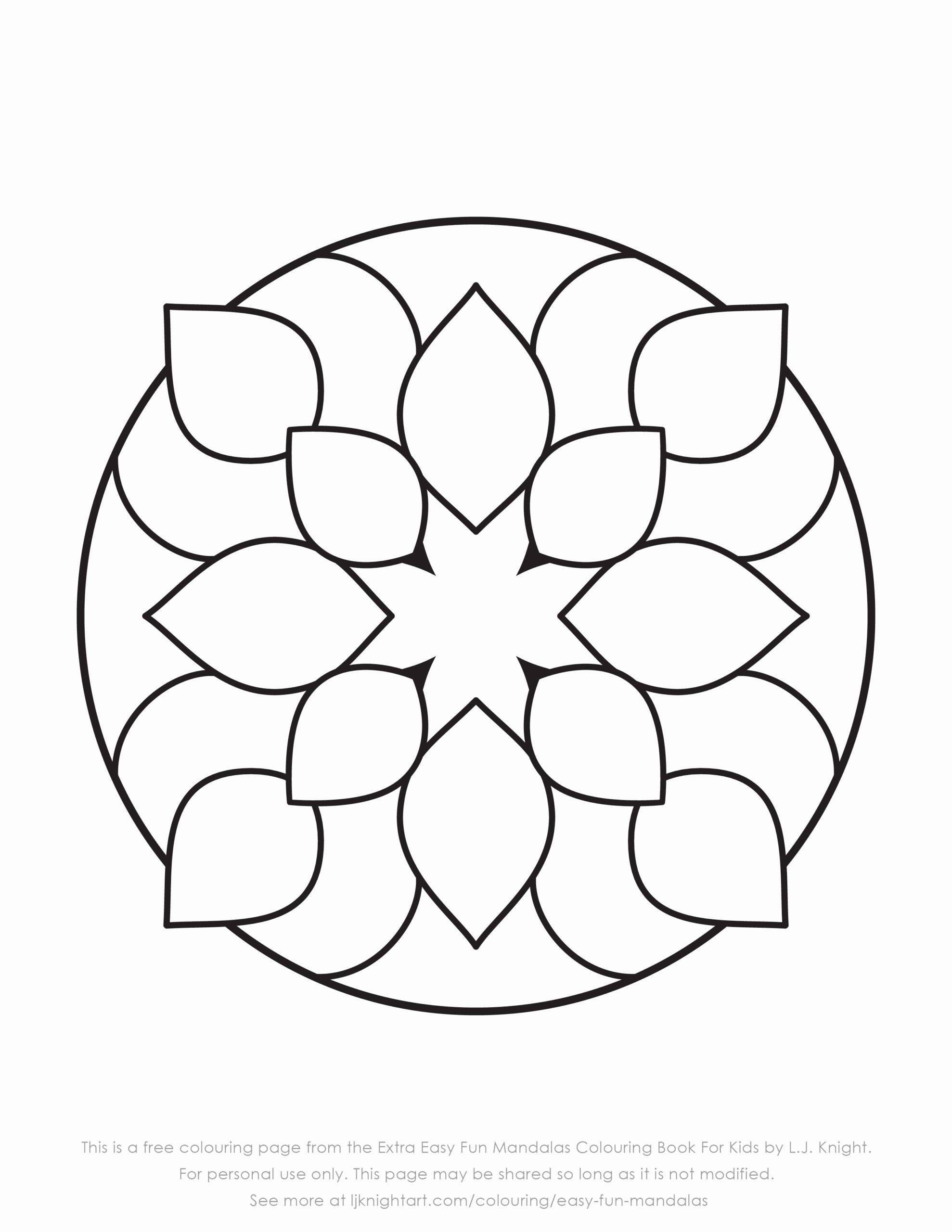 Coloring Pages For Kids Butterfly Luxury Coloring Pages Coloring Book Simple Mandala For Kids To Mandala Coloring Pages Mandala Coloring Easy Coloring Pages