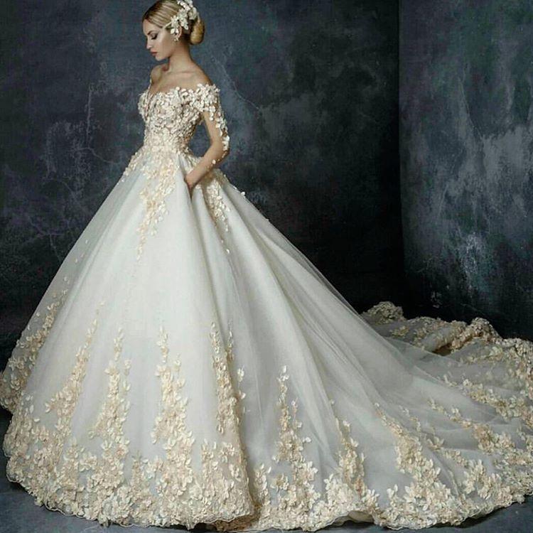 2,449 Likes, 10 Comments - Wedding-Haute Couture-Kleid (@gelinlik35 ...