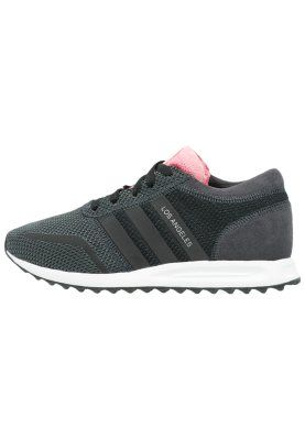 adidas Originals LOS ANGELES - Sneakers laag - core black ...