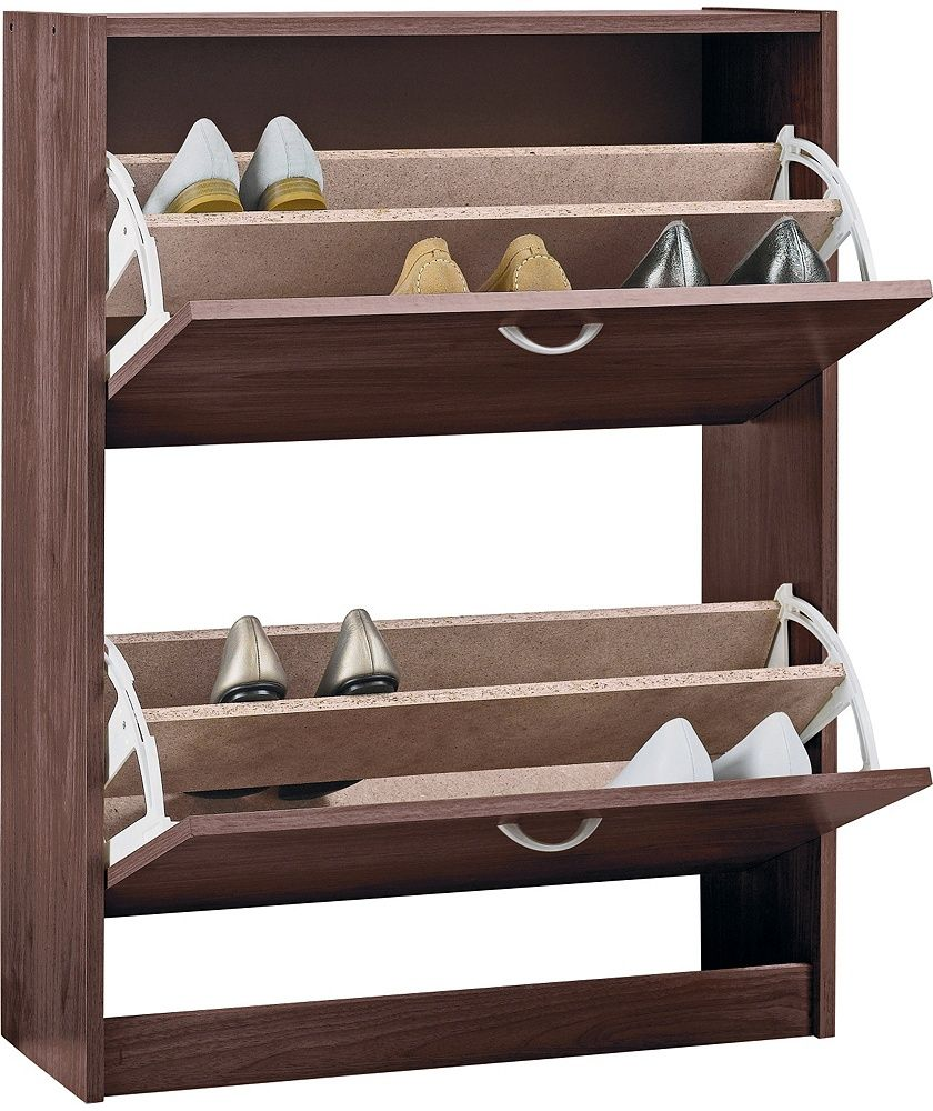 Buy Shoe Storage Cabinet - Walnut Effect at Argos.co.uk - Your ...