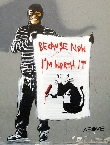 Above Is An International Street Artist Who Chooses To Deliberately Keep His Identity Concealed Above Is Known For His Street Artists Street Art Banksy Artist