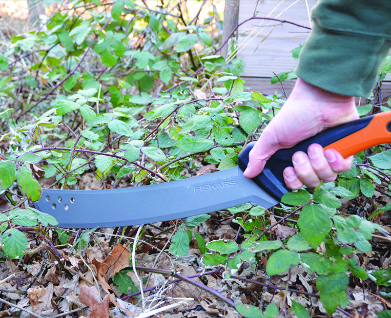 Machete User Guide For Clearing Brush Land Fiskars Fiskars Yard Care Clearing Brush
