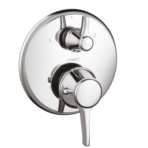 Ecostat C Thermostatic Volume Control And Diverter Faucet Trim