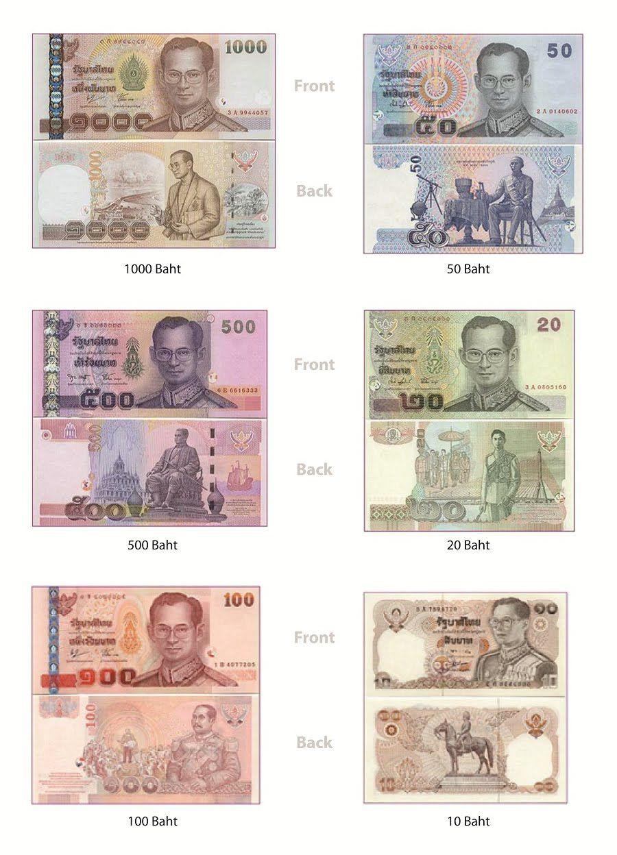 Фото купюры Таиланда | ประวัติศาสตร์, เหรียญ, เงิน