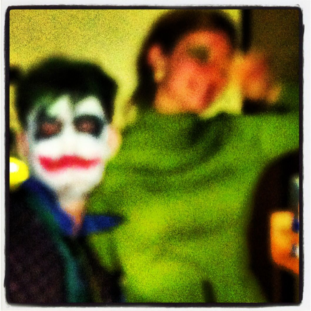 The Joker & Poison Ivy were in the house!