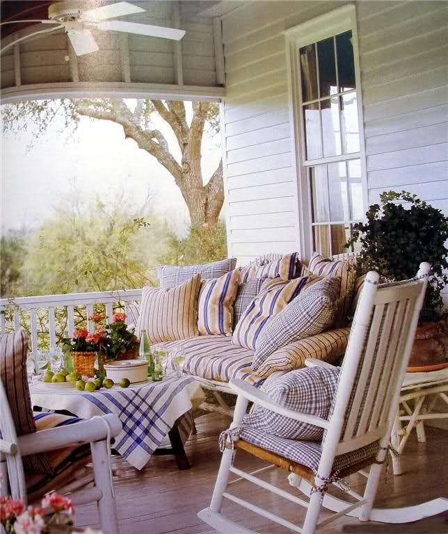 Porches Sunroom: Primitive Front Porches