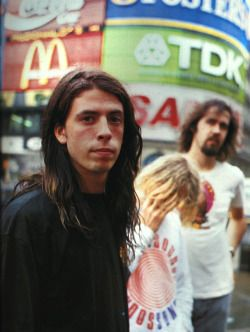 Nirvana - 8/22/1991 - London, by Richard Bellia