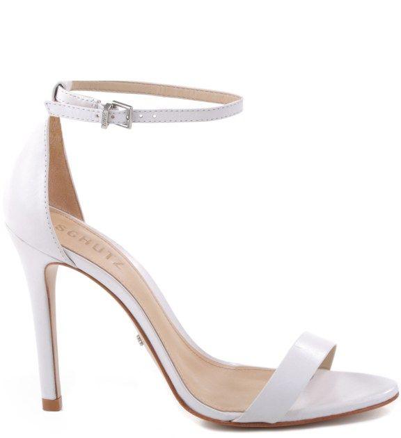 eb059cf57 Sapato para noivas nas lojas de BH - Branca, da Schutz | Shoeholic ...