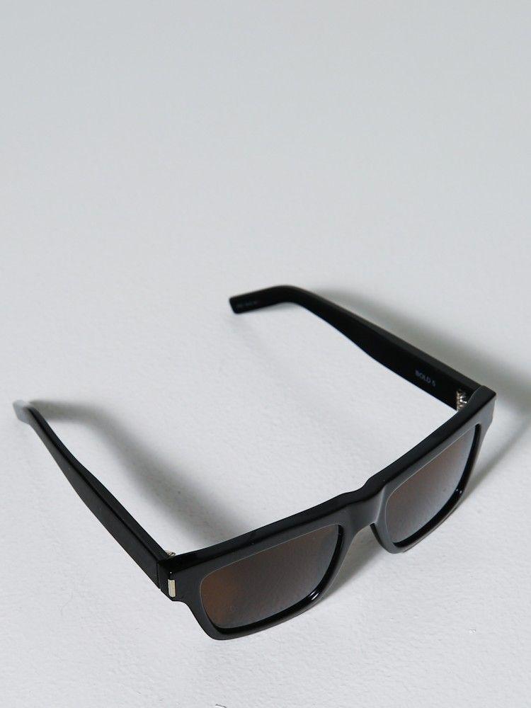 25063d390d4d Saint Laurent | Bold 5 Black for Men | Lyst | Glasses | Saint ...