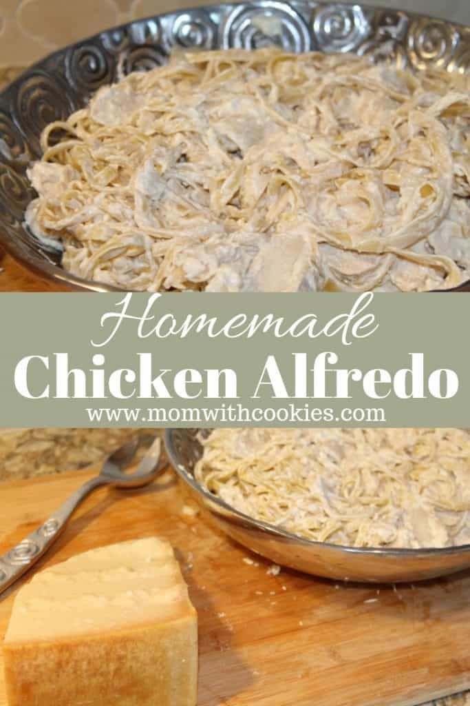Homemade Chicken Alfredo -