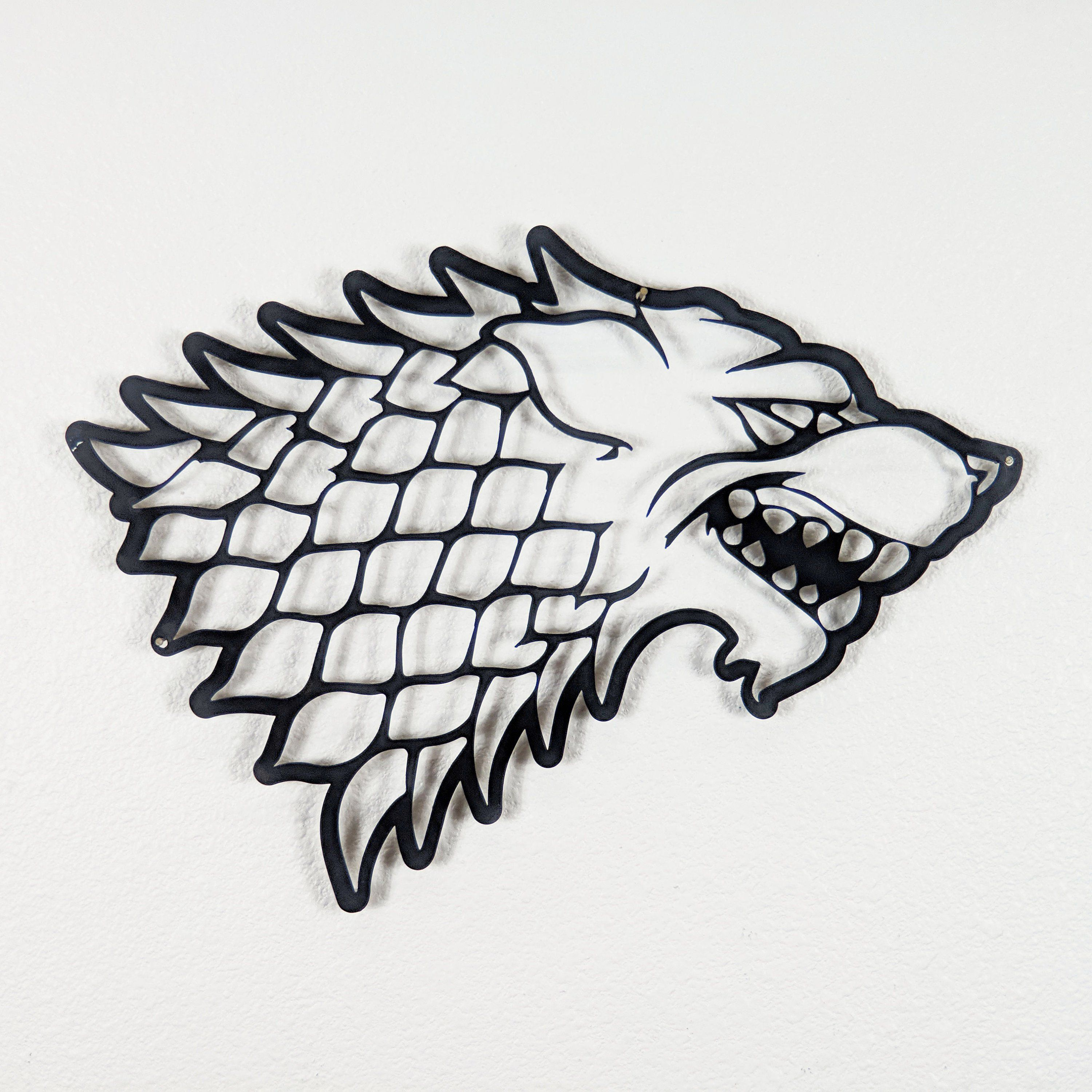Game of Thrones House Stark Wall Art
