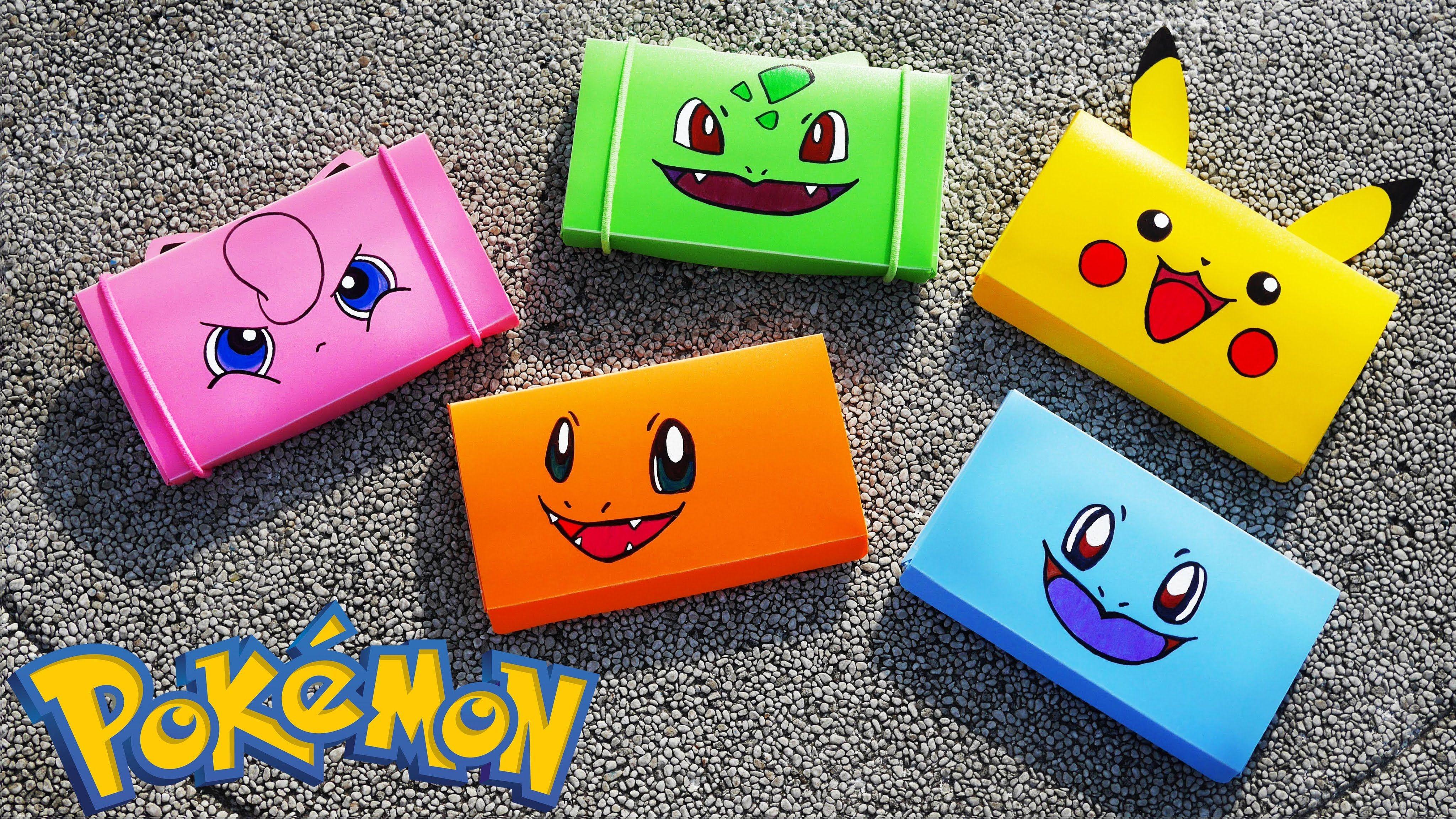 Pokemon ball style Pencil Case Back to