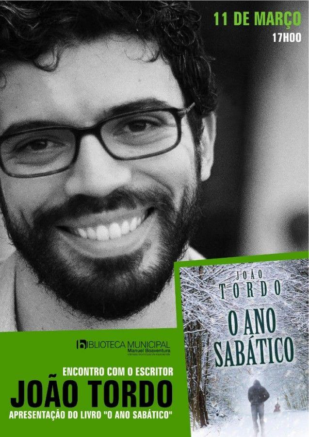 """Escritor João Tordo apresenta """"O Ano Sabático"""" na Biblioteca Municipal de Esposende  - http://local.pt/escritor-joao-tordo-apresenta-o-ano-sabatico-na-biblioteca-municipal-de-esposende/"""