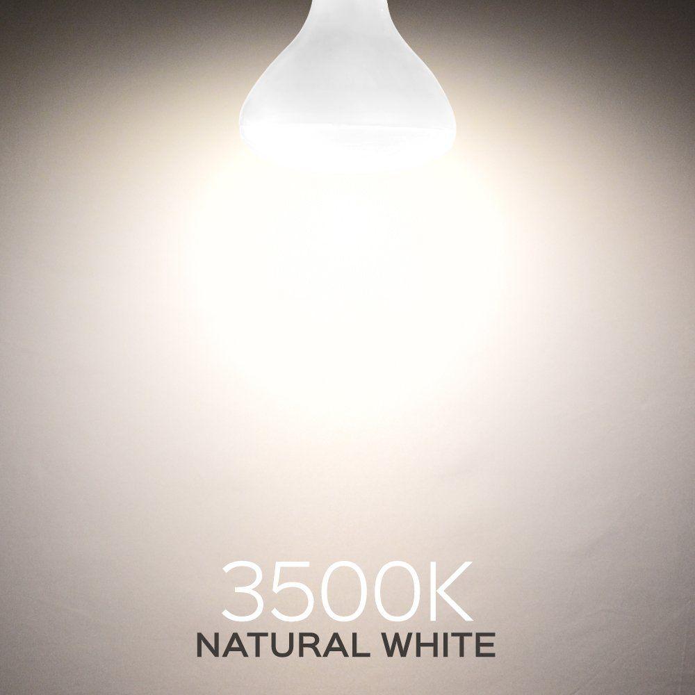 Luxrite Br40 Led Light Bulbs 85w Equivalent 3500k Natural White Dimmable 1100 Lumen Led Flood Light Bulb 14w E26 Me Led Flood Lights Led Light Bulbs Light Bulb