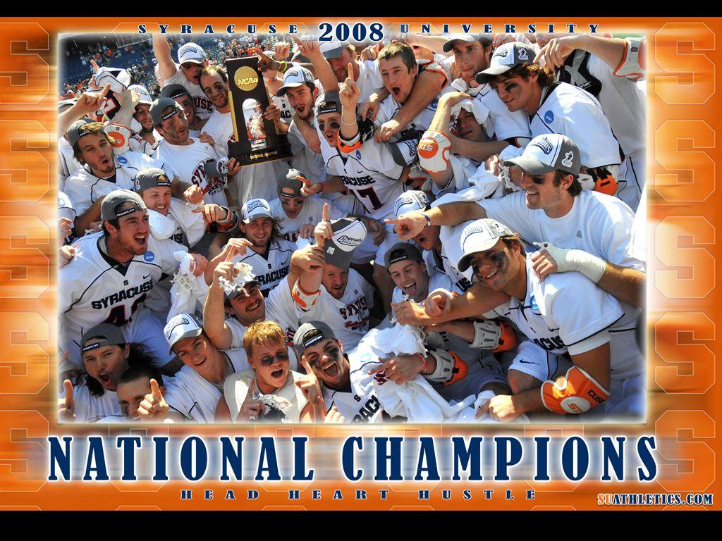 Syracuse Lacrosse 1 Syracuse Lacrosse Lacrosse National Champions