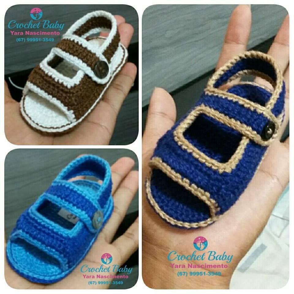 Papete KAUAN de crochê - Tamanho 09 cm - Crochet Baby Yara ...