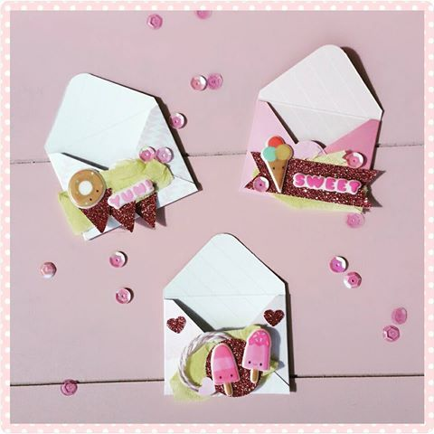 PACK 2 HAPPY BIRTHDAY LILAC ENVELOPE TOPPER EMBELLISHMENTS FOR CARDS OR CRAFTS