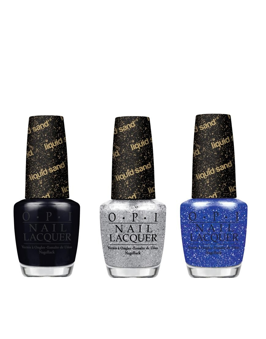 Mariah Carey mini nail polish trio by O.P.I    Includes 3 x 3.75ml nail polishes    Featuring O.P.I's innovative liquid sand formula    Provides a textured, matte finish and reflective sparkle    Long-lasting and chip resistantABOUT O.P.IKnown for their tongue-in-cheek names and plethora of shades, O.P.I create hard wearing nail polishes in a range of finishes. More than an average bottle of polish, their range now spans to include top coats and nail corrector pens. Not to mention their…