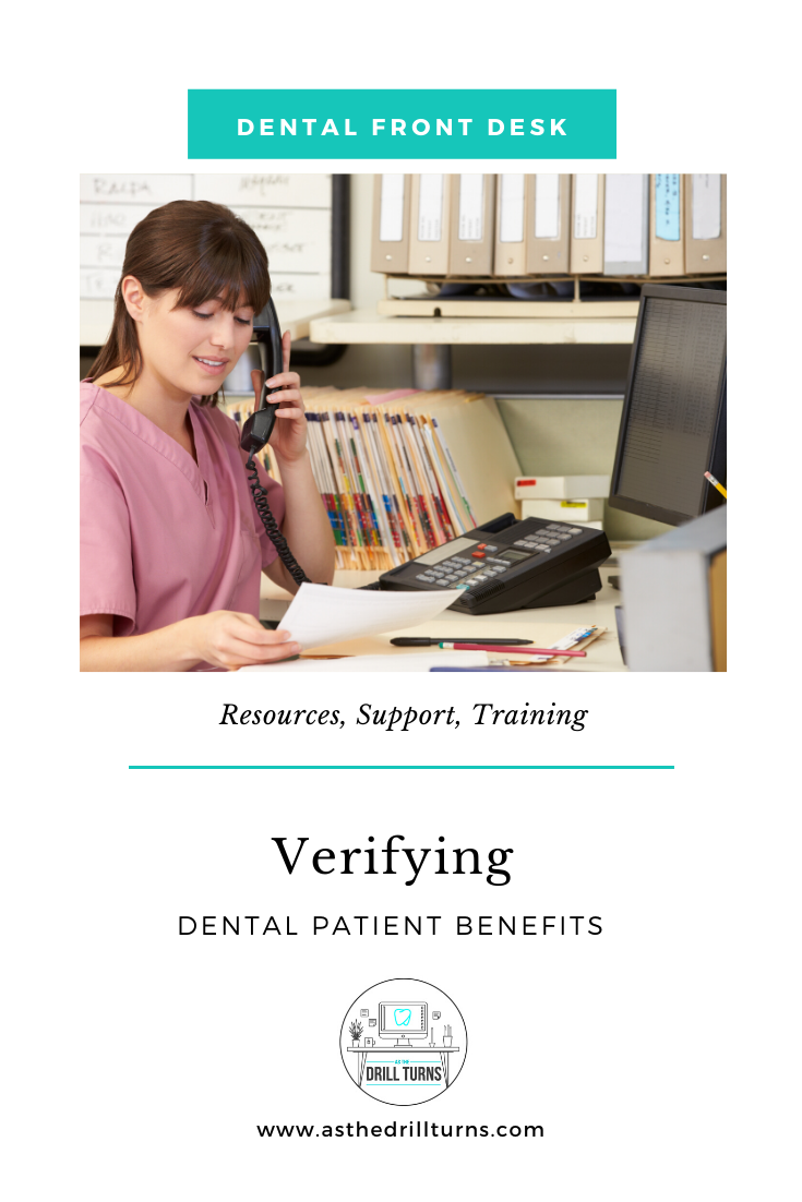 Verifying Dental Patient Benefits Dental Insurance Dental Free