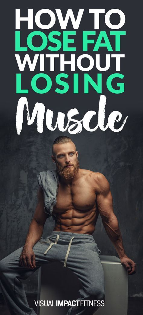 lose fat keep muscle bodybuilding