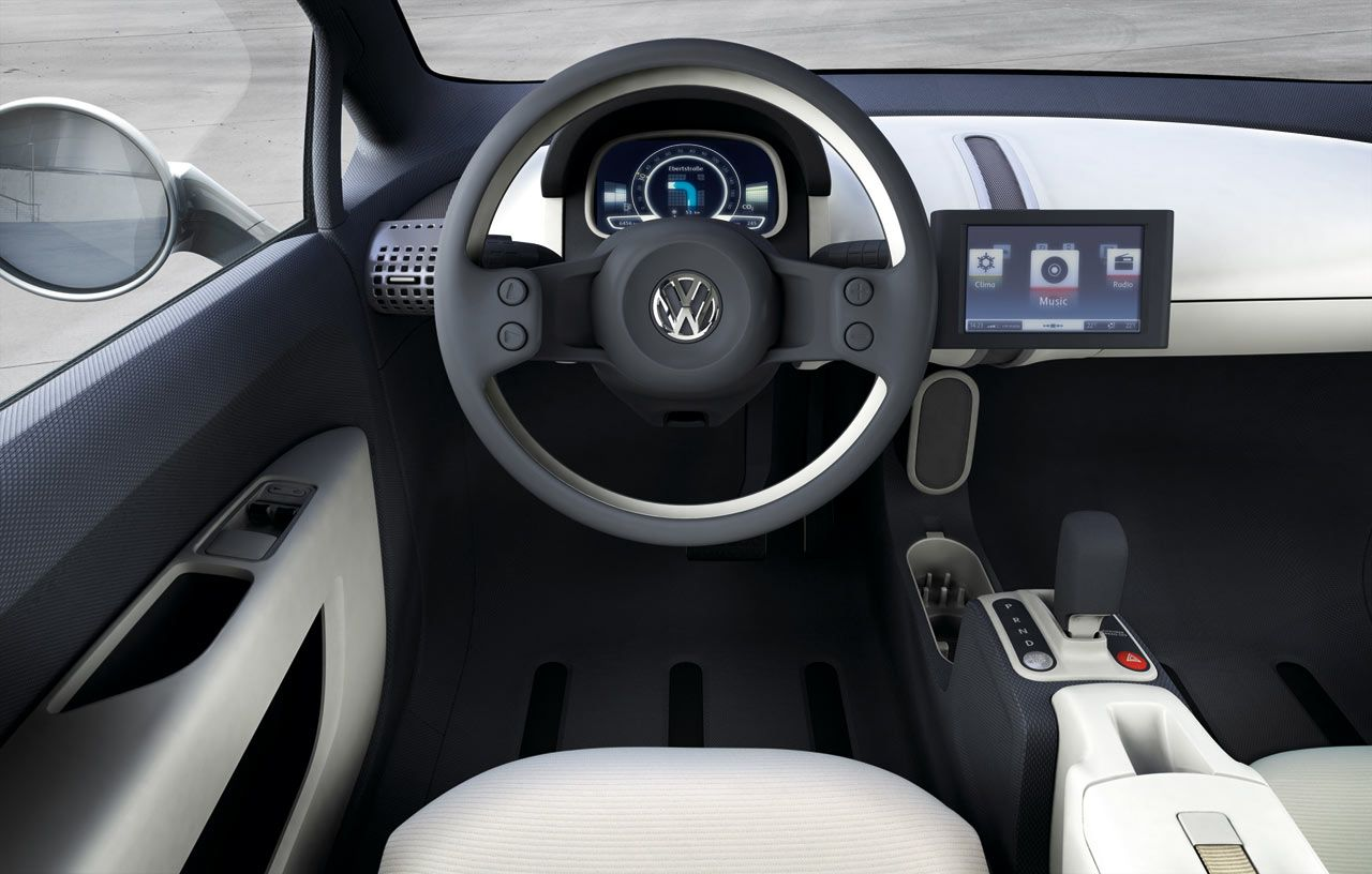 Vw Up Concept Interior Vw Up Volkswagen Up Commercial Vehicle