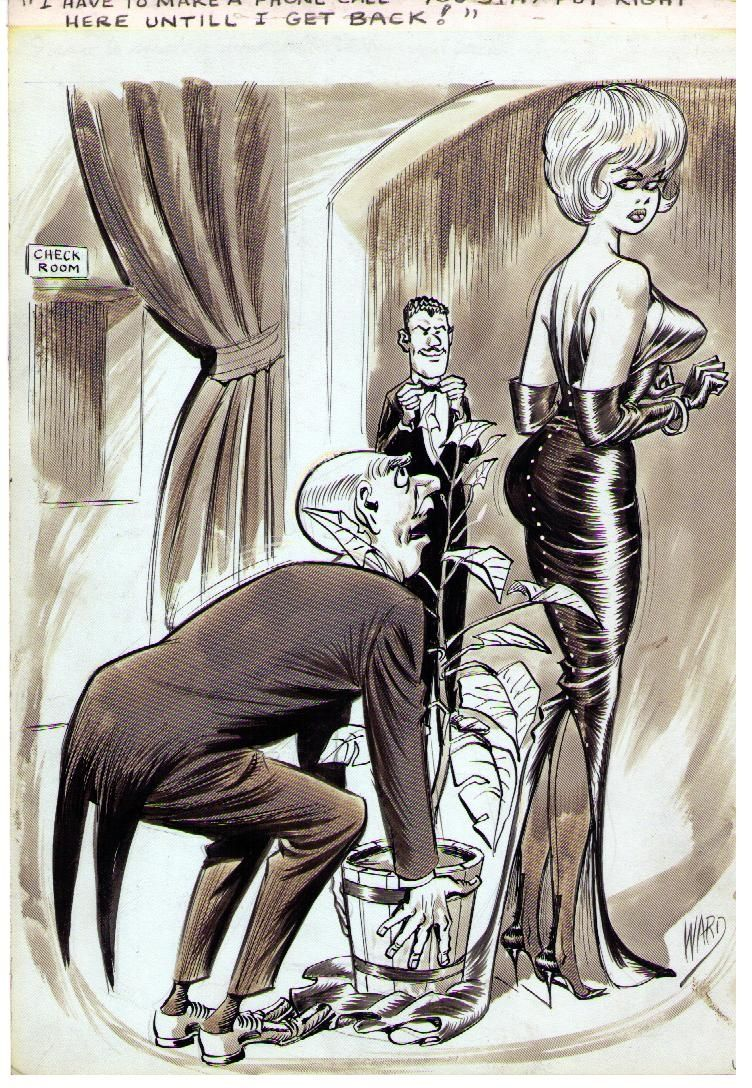 Adult Cartoon Comics bill ward cartoon comic art | bill ward, cartoon art, art