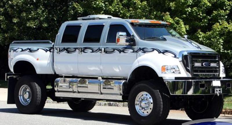 F 650 Supertruck Shore Thing Ford Work Trucks Work Truck Built Truck