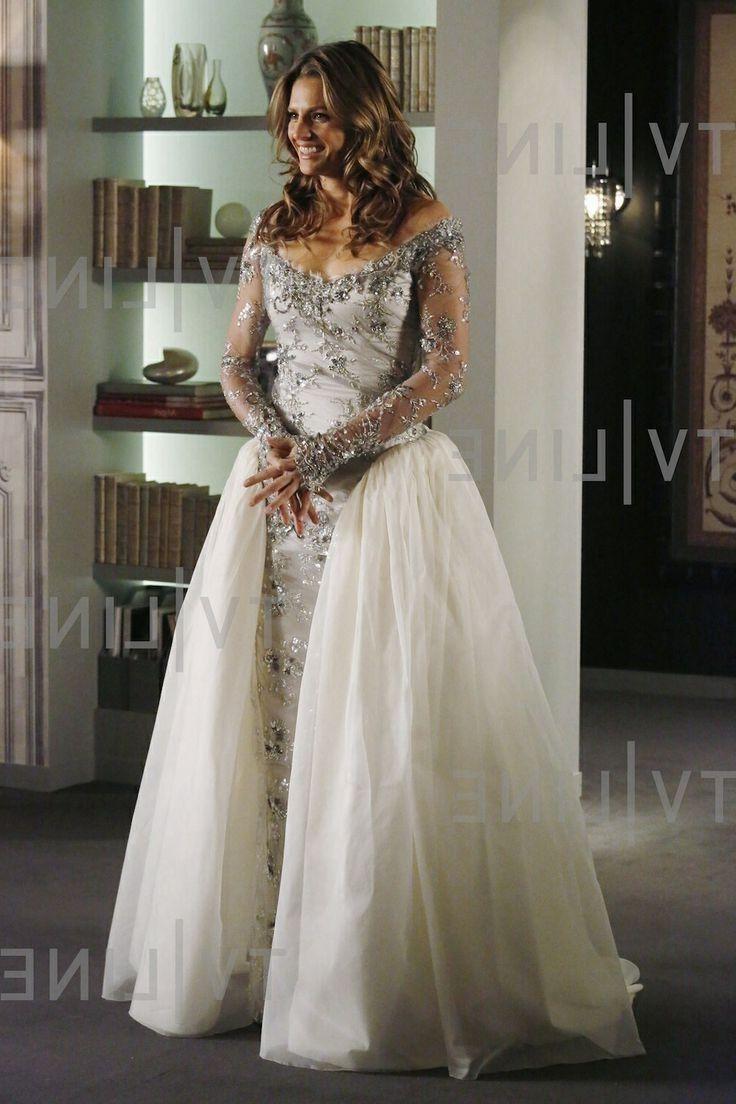 Castle Kate Beckett Wedding Dress