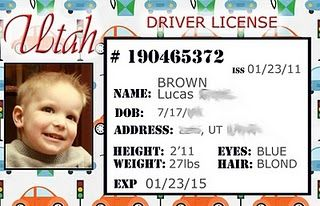 Personalized Credit Cards For Kids Kids Cards Drivers License