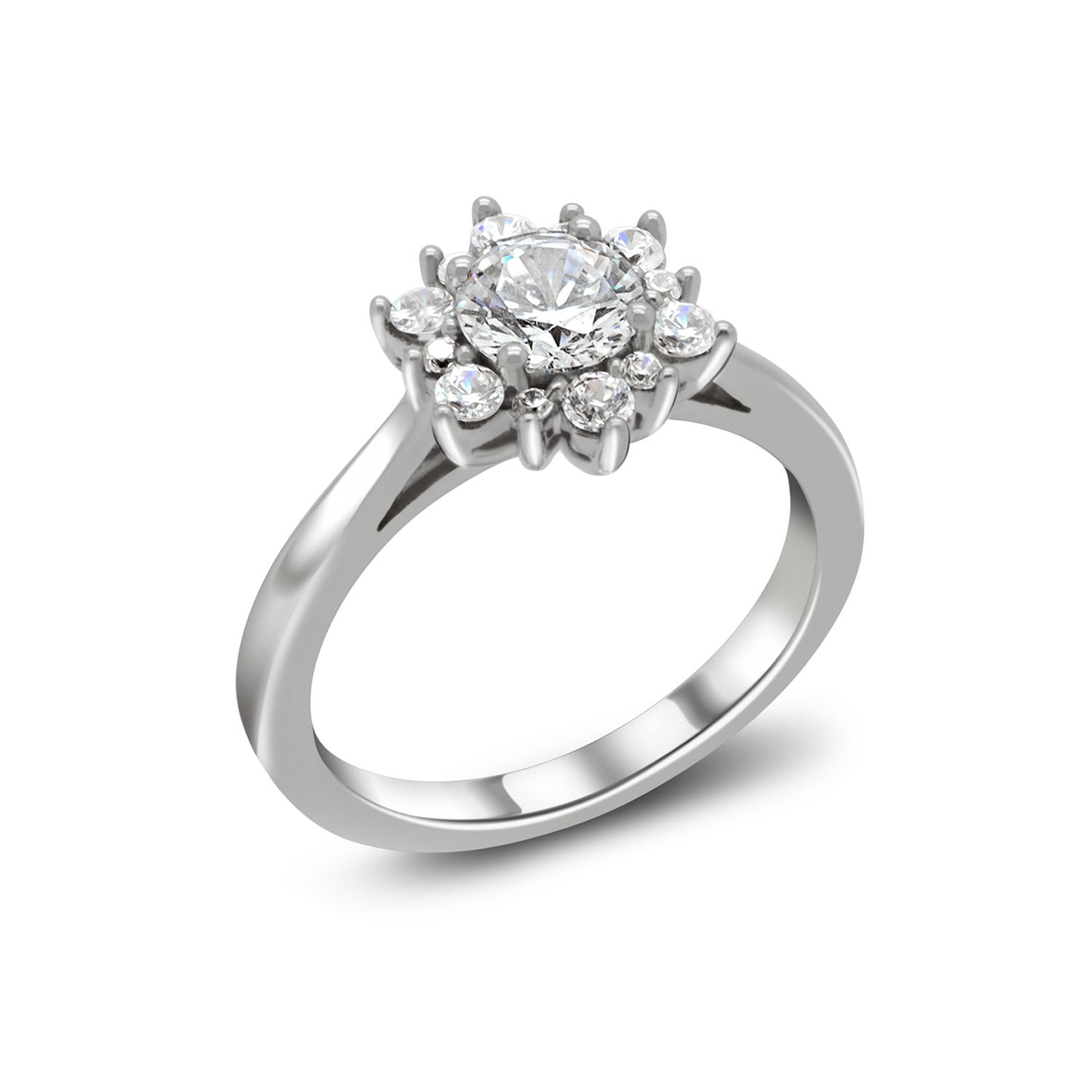 Queen Elsa Inspired Engagement Ring from Enchanted Disney Fine