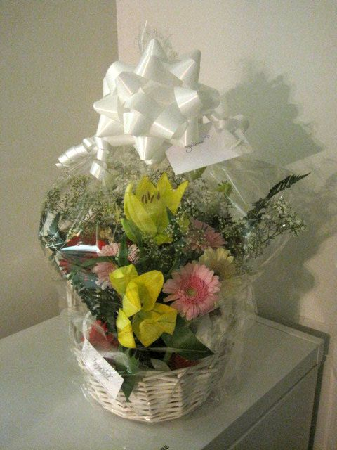 One of our floral arrangements