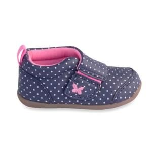 Carter's® Every Step Stage 3 Walking Shoe in Navy Dots