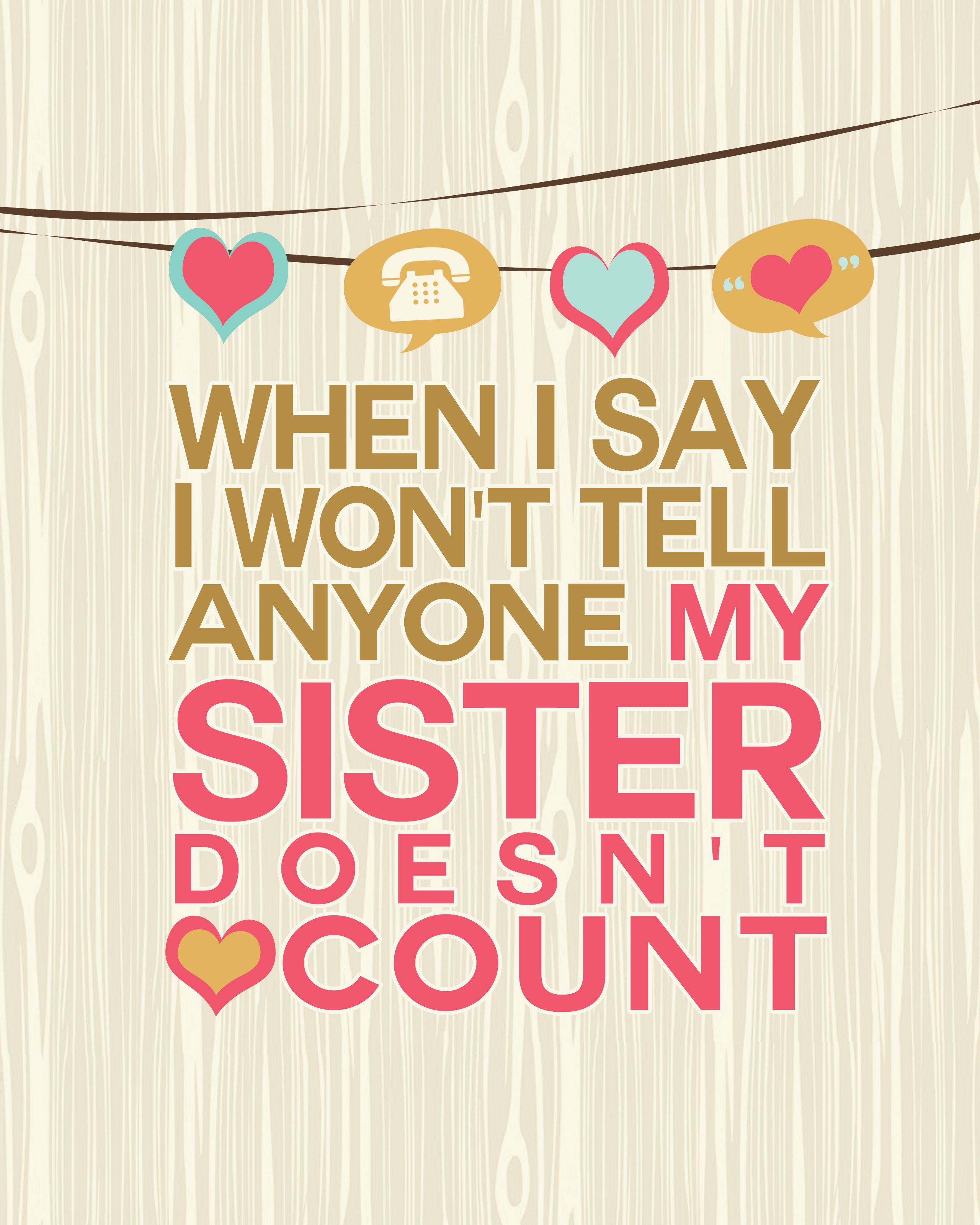 sisters quotes  Pesquisa Google  sisters quotes