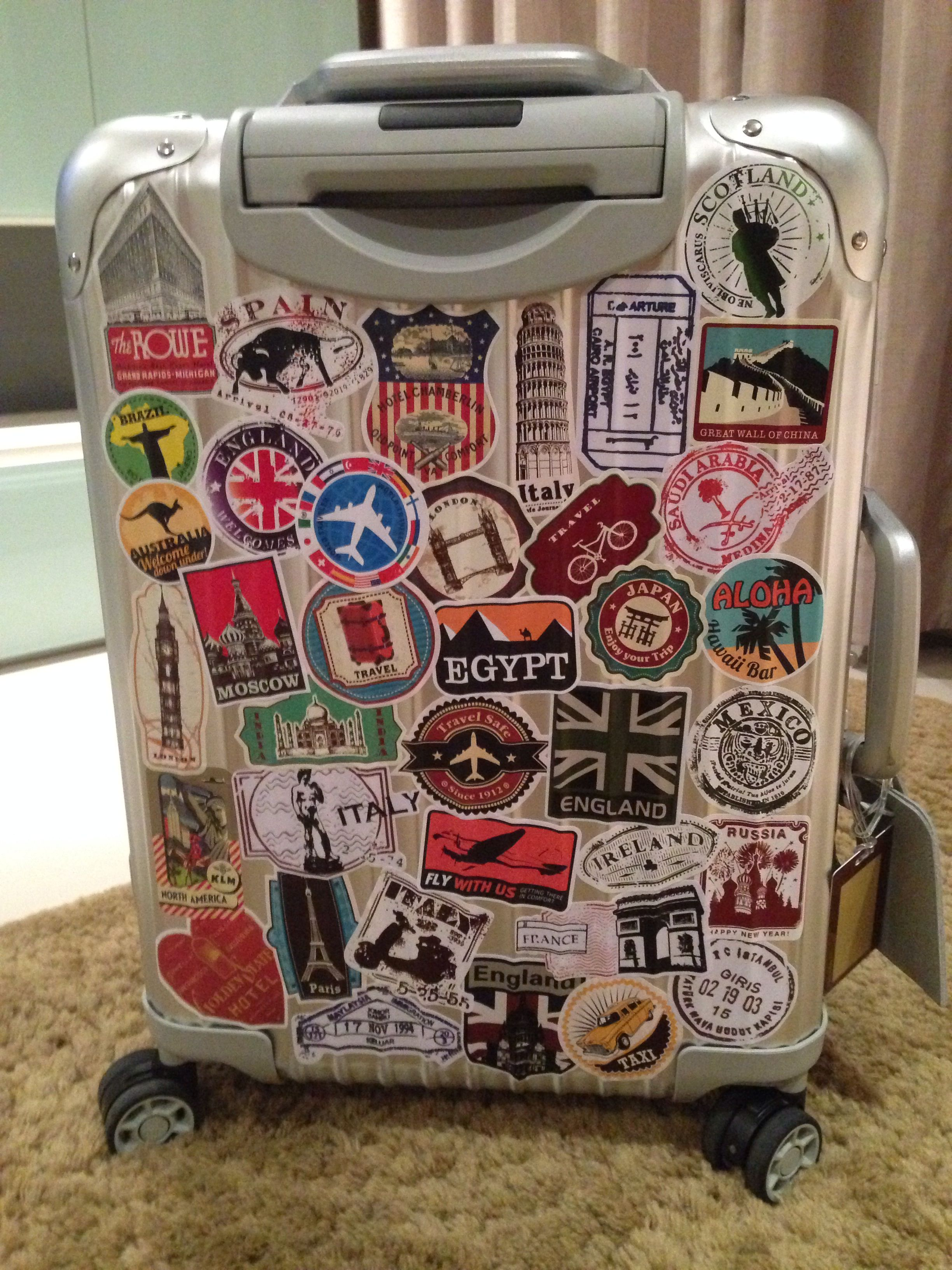 My Rimowa part 2 | Rimowa | Pinterest | Rimowa, Luggage ...