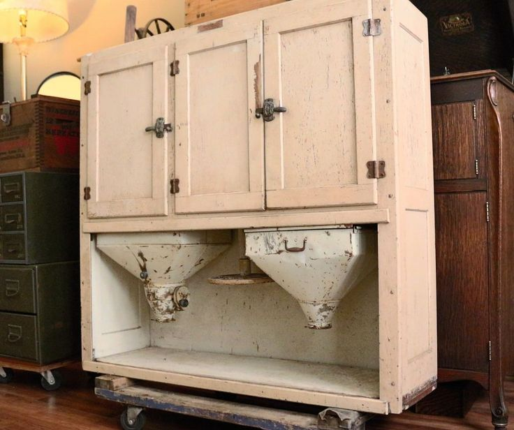 Old Flour Bin Cabinets   17 Best images about Antique Hoosier Cabinets And  Container's on . - Old Flour Bin Cabinets 17 Best Images About Antique Hoosier